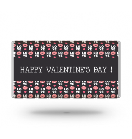 Personalized Valentine's Day Bar