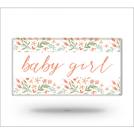 Baby Girl Personalized Bar